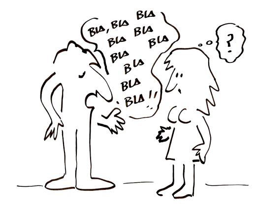 hablar no es conversar