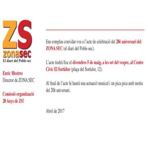 Invitación Zona Sec
