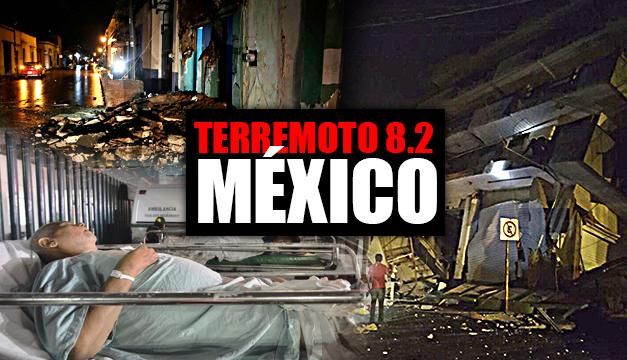 Terremoto 8.2 México